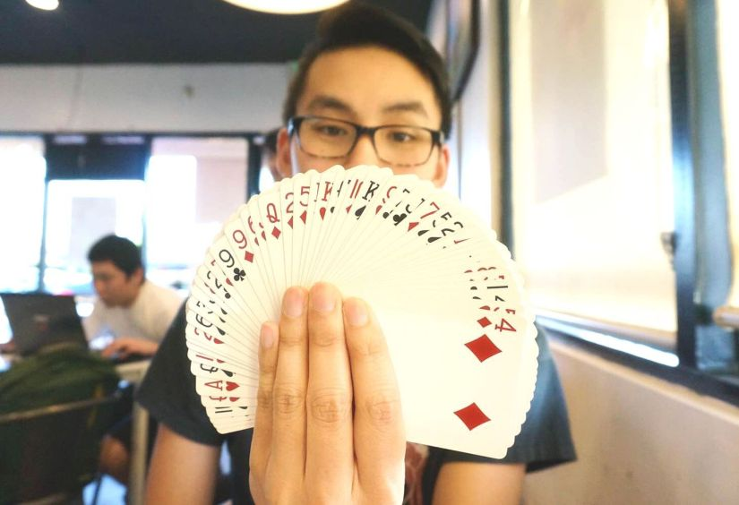 Now You See Him, Now You Don't: Meet Rexford Pham, a Young Street Magician