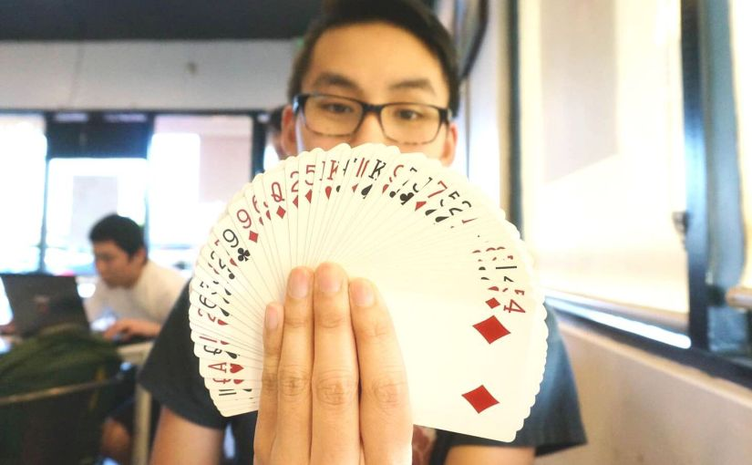 Now You See Him, Now You Don't: Meet Rexford Pham, a Young StreetMagician